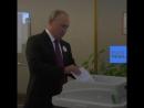 NC Путин и умная урна для голосования