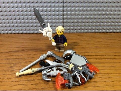 HOW TO BUILD LEGO ... 1 : КАК ПОСТРОИТЬ КРУТОЕ ОРУЖИЕ ИЗ 9 СЕЗОНА ЛЕГО НИНДЗЯГО