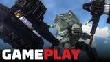 Earth Defense Force Iron Rain - Battling Giant Robots and Bugs