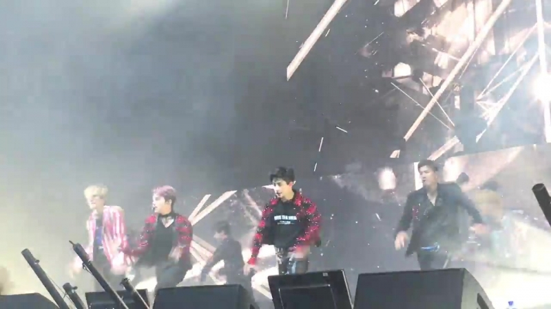 [VK][180620] MONSTA X fancam - Destroyer @ The 2nd World Tour: The Connect in Amsterdam