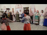Фланкировка шашкой и нагайками на Кузнецкой вечоре - Казачья в ЦРФЭ