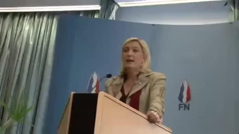 Marine Le Pen divulgue ce que les socialistes magouillent (archive FN NPDC)