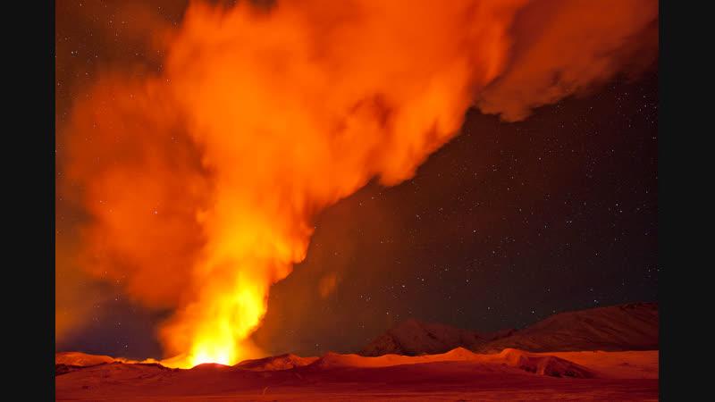 Дикая красота вулканы Камчатского края