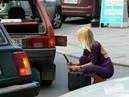 Бабы за рулем, приколы на дороге №6 2018