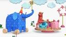 Деревяшки -Улитка Ветерок - развивающие мультфильмы для самых маленьких 0-4