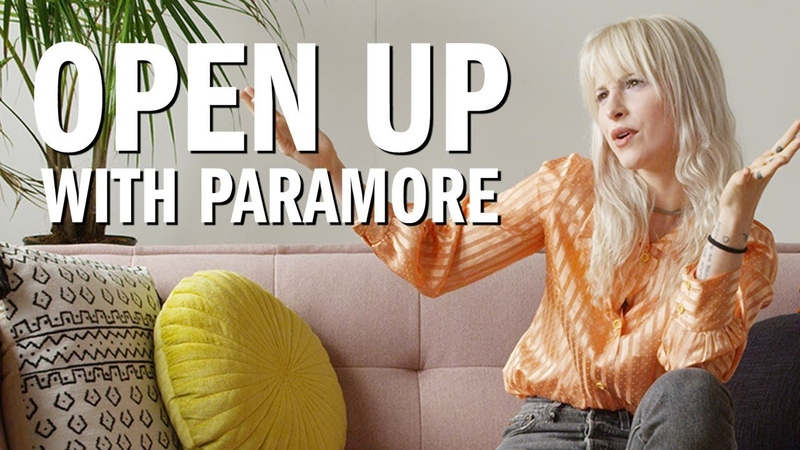 Open Up w Hayley Williams of Paramore Urban Outfitters