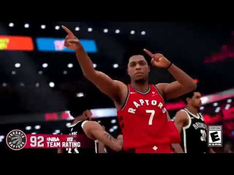Toronto Raptors in NBA 2K19