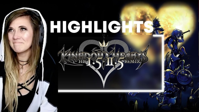 KINGDOM HEARTS BEST MOMENTS | Lead up to KINGDOM HEARTS 3 | Lindsay Elyse