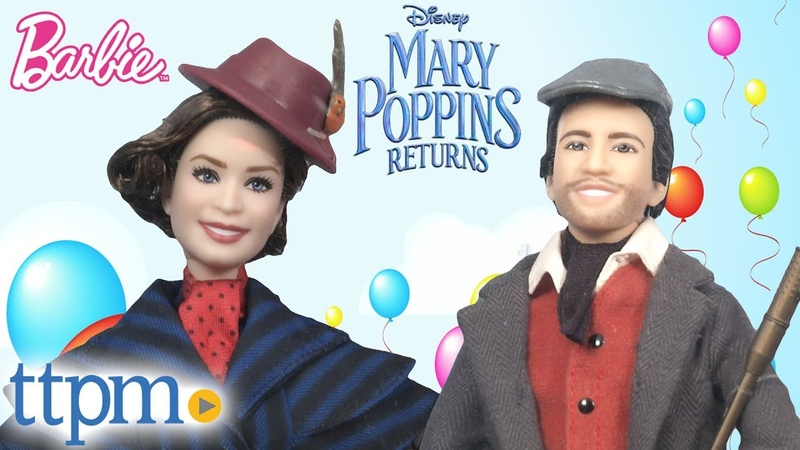 ОБЗОР кукол Mary Poppins Returns Mary Arrives and Jack the Lamplighter Dolls from Mattel