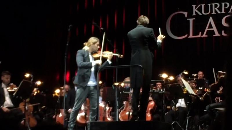 David Garrett - Tchaikovsky Violin Concerto D-major op.35 Aachan 3.9.2017 I. Allegro moderato