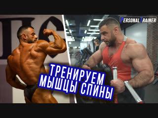 Тренируем мышцы спины. Вахтанг Датукишвили