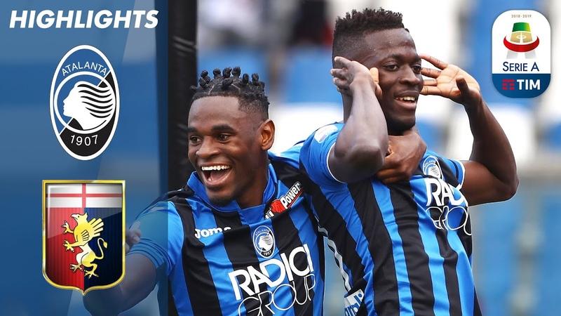 Atalanta 2-1 Genoa   Barrow and Castagne Score to Continue Atalanta's Top 4 Push!   Serie A