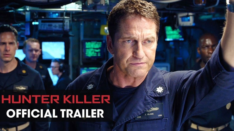 Hunter Killer (2018 Movie) Official Trailer – Gerard Butler, Gary Oldman, Mikhail Gorevoy. Common