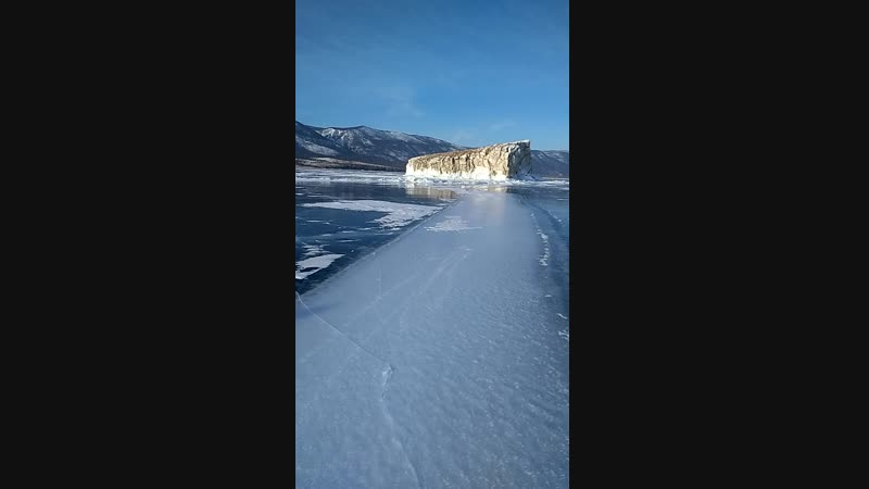 Курма-Чайкин остров-остров Огой. Малое Море. Более 9км на коньках по зимнему Байкалу. Мои чудесные выходные❤😍Мечты сбываются