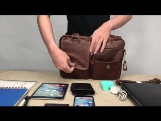сумка Hamilton и часы в подарок