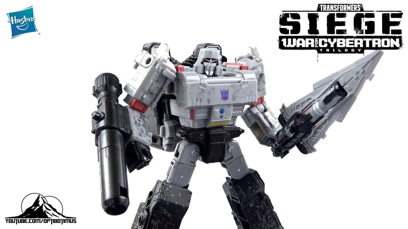 Optibotimus Reviews: Transformers: Siege Voyager Class MEGATRON