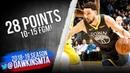 Klay Thompson Full Highlights 2019.02.02 Warriors vs Lakers - 28 Pts, 10-15 FGM! | FreeDawkins