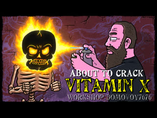 Vitamin X - About To Crack (Official Music Video)
