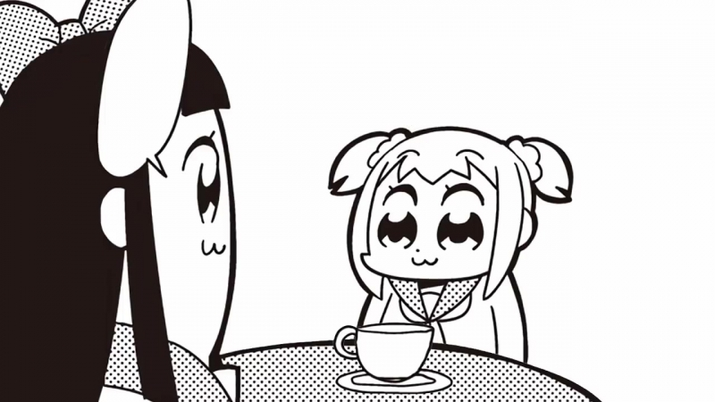 Pop Team Epic – 014. Latte Art is Dead (живая манга by CptNamless)