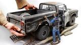 1961 Dodge D100 3D print Wood Foil Styrene Full build 16
