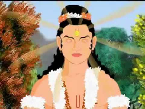 Снисхождение великого Бога Вишну. Мультфильм.