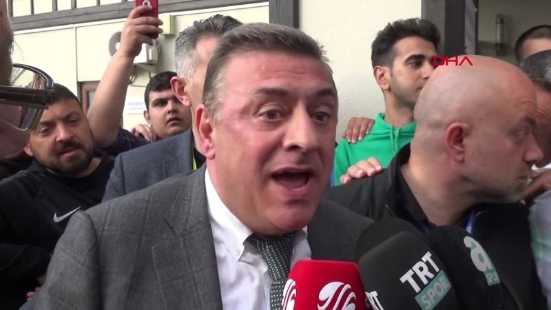 Çaykur Rizespor Başkanı Hasan Kartalın açıklamaları