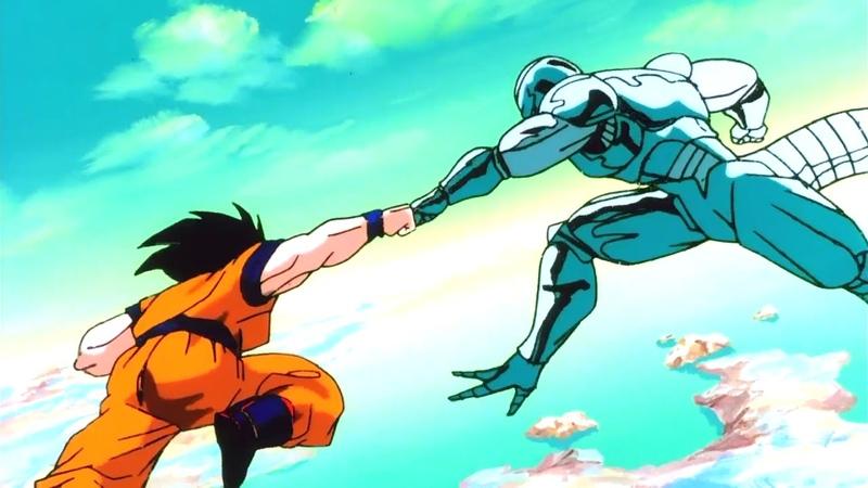 Goku Kaioken 10x vs Metal Cooler Dublado - Dragon Ball Z