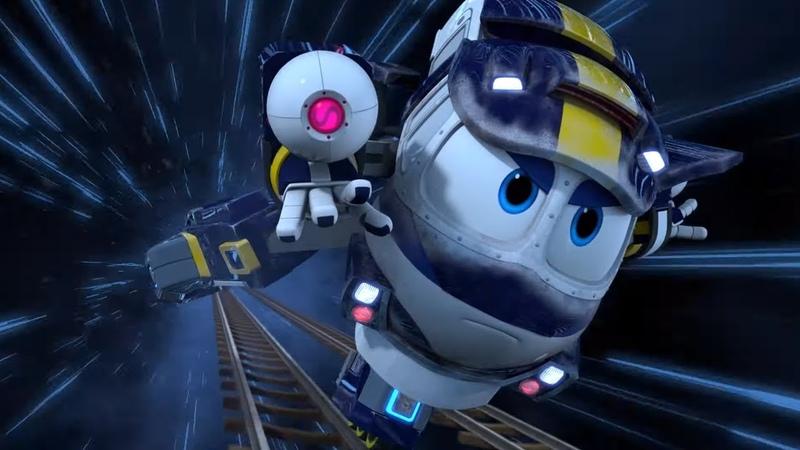 Роботы-Поезда (Беги, Кей, беги и Вот и Альф) 1 сезон | Мультфильмы для детей про паровозики