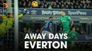 AWAY DAYS | FOSTER SAVES PENALTY RICHARLISON SCORES | EVERTON