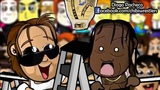 Chibi Wrestlers - HappyScary Dean vs The Ladder Match at WrestleMania 31 (WWE Parody)