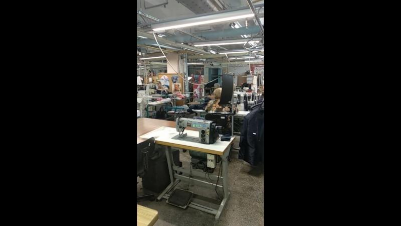 Экскурсия на фабрику Синар. Швейный цех