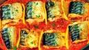 Сохраните это рецепт Нежнейшая запеченная скумбрия с лимоном в томатном соусе