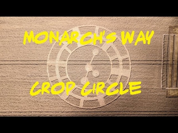 Crop Circle - Monarch's Way, near Fonthill Bishop, Wiltshire Reported 13th August