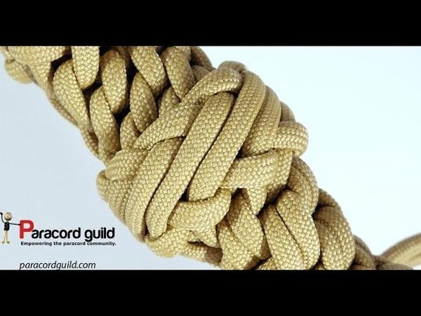 Diamond knot- headhunter's knot look