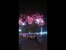 Салют в честь дня России в Архипо-Осиповке.