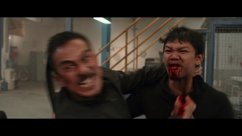 The Night Comes For Us | Joe Taslim | Warehouse Fight Scene | 1080p