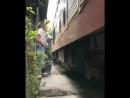 Перед вами прибытие поезда