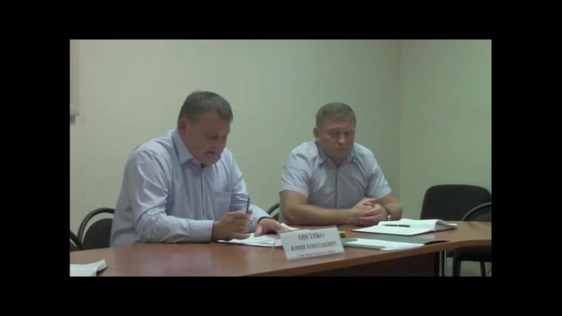 Глава Управы Фисенко Ю.Г. о дне города в районе Дмитровский 8 сентября 2018