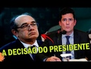 CARTA BRANCA: BOLSONARO 'AUTORIZA' JUIZ SERGIO MORO A DECRETAR PRISÃO DE CORRUPTOS