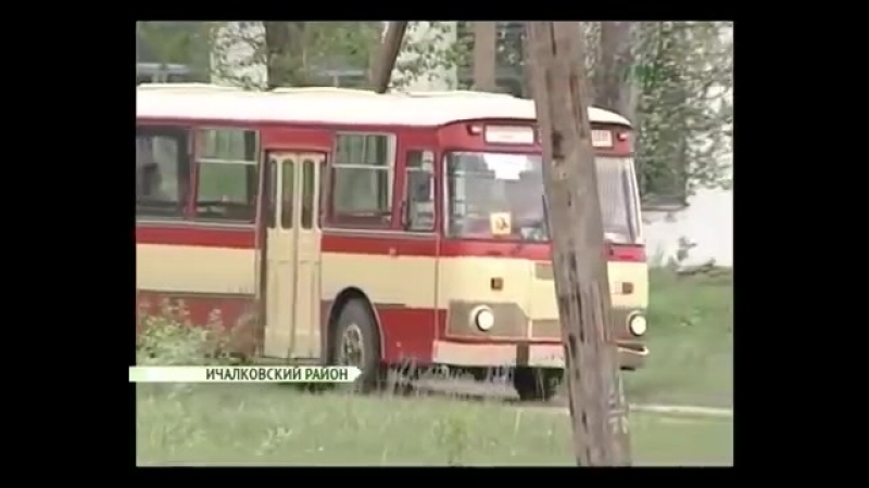 ЛиАЗ-677М Е874АР 13 Ичалковский район (Республика Мордовия)