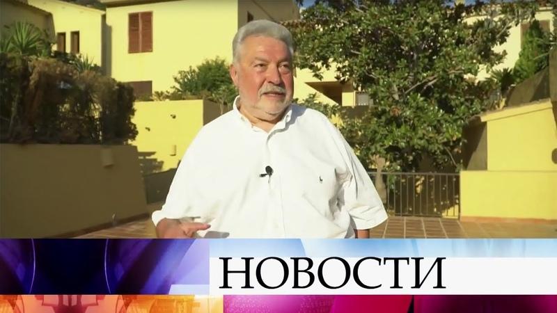 Телеведущий режиссер и мэтр КВН Юлий Гусман отмечает юбилей