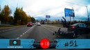 Новая подборка аварий, ДТП, происшествий на дороге, октябрь 2018 51