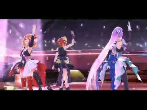 歌マクロス 一度だけの恋なら 3人 ユニットライブ Full Version レゾナンツ Freyja Mikumo