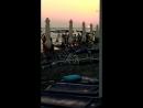 Закат в Лазаревском,пляж Взморье