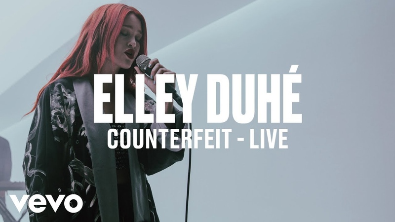 Elley Duhé - COUNTERFEIT (Live) | Vevo DSCVR ARTISTS TO WATCH 2019