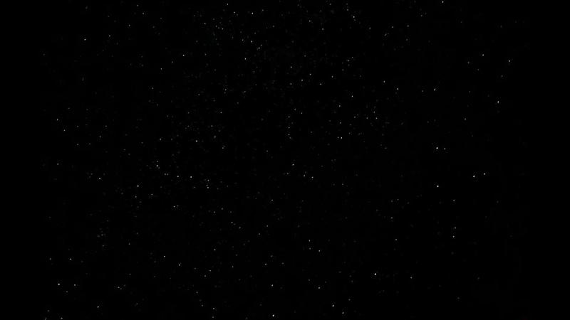 таймлапс звёздного неба с персеидами