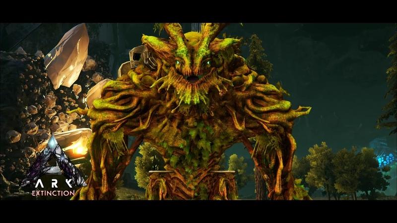 Ark Survival Evolved Extinction OST Forest Titan Cinematic
