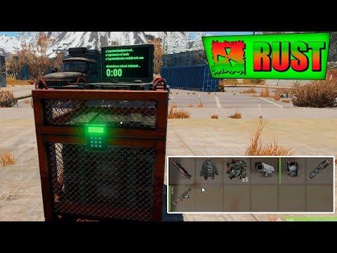 Rust 2 ГРУЗА С ЧИНУКА И СБИТЫЙ ВЕРТОЛЕТ ХАЛЯВНЫЙ ЛУТ в РАСТ !