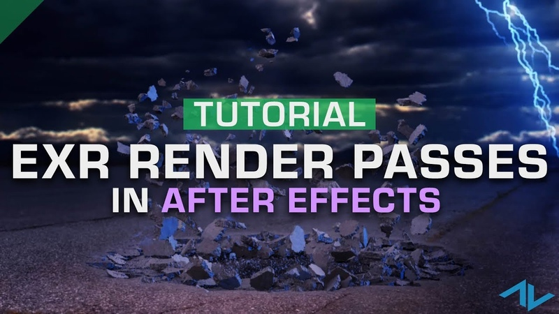 How to Use OpenEXR Render Passes | After Effects
