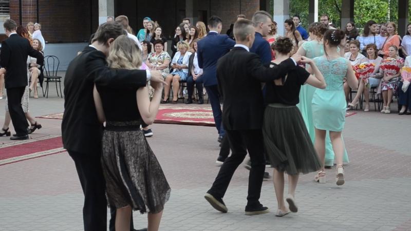 Танец Кантри выпускной 2018 год